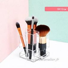 HUIJU Cosmétique Titulaire Organisateur Maquillage Clair Acrylique Bureau Maquillage Sourcils Crayon À Lèvres Brosse Creative Seau De Stockage #1 - B07CQRN4TC