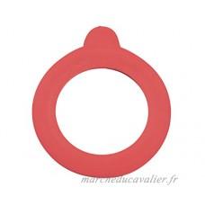 Leifheit 3215 Joint caoutchouc de rechange Rouge 12 x 15 x 1 cm 6 Pièces - B01ARMYBV4