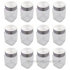 Bocal en verre à épices en verre avec acier inoxydable Ver Feu 300ml Lot de 12 - B005MIKOW4