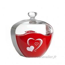 Ritzenhoff & Breker Bonbonière  Boîte à Bonbons  Boîte à Biscuits  Motif : Cœur  Rouge  689624 - B00JRUSADS