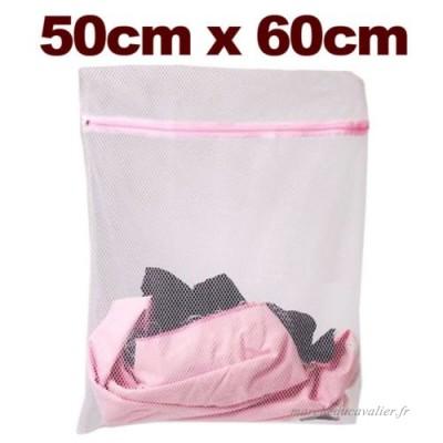 SAC A LINGE Filet lave linges 50x60cm pour protecteur linge en Machine a laver delicat Mesh - B00F8A6RYK