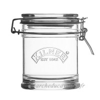 Karis 0025.804 Bocal Signature Clip Top 0.45 Litre  Verre  Transparent  13 x 10 x 12  2 cm - B06W2L41DY