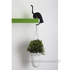 ARTORI Design AD273B - Louis' Paw - Black Metal Cat Decorative Balance Hanger by Artori Design - B01BSP74BS