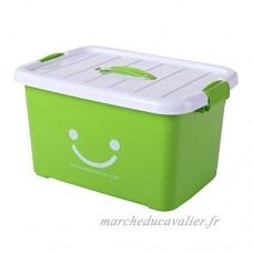 Boîte de rangement grande et durable pour boîtes de rangement mobile et mobile  verte - B071W8RRLX