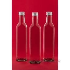 24 bouteilles en verre vides 250 ml MAR bouteille de jus de bouteilles de liqueur de bouteilles bouteilles d'alcool d'huile de slkfactory - B01CFL66WC