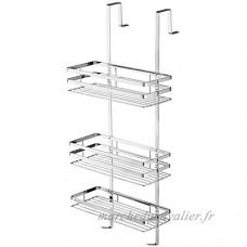 SAILUN étagère suspendu en acier inoxydable étagères chromée de salle de bain pour la cabine de douche   hygiénique  étagère de douche 3 étages à suspendre - B073PTQKSW