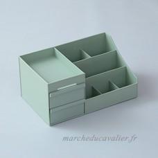 Cosmetic Holder Organizer Dresser Skincare Grilles Européenne Simple Boîte De Finition Green - B07CQ4QZ7T