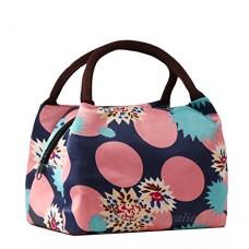 TININNA Sac Repas Lunch Bag Sac à Déjeuner Isotherme Sac Zipper Box Chiller Bag pour Camping Repas Pique-nique Voyages Sport 2 - B01NBPK2UC
