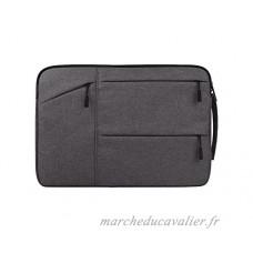 PanpA Amical 13.3 Pouces Toile Sac Ordinateur Portable Sac Sac À Main Intérieur pour Homme Femmes - B07FFSR2H8