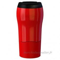 Mighty Mug MM1899 Solo Thermos Acier Inoxydable Rouge 8 x 8 x 16 cm 320 ml - B00WR0O9RQ