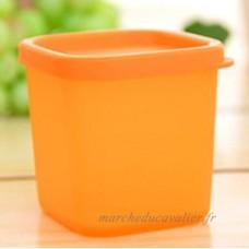 Yhcean de cuisine micro-onde réfrigérateur Conservation Boîte scellée Coque Plus Boîte de conservation (Orange) - B07D6ZPXFN